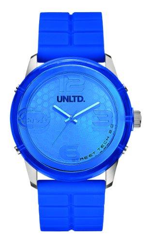 Marc Ecko E11539G3 - Reloj de pulsera para hombre, azul/plata