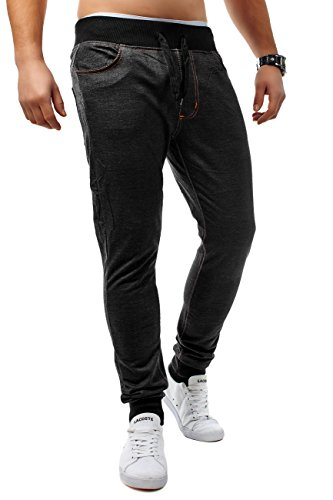 Herren Jogging Jeans Freestyle-Rocker ID1202 Slim Fit (Stretch) Schwarz