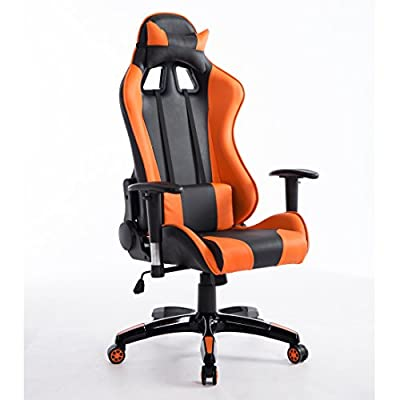 CTF PRO Racing Gaming Style High Back PU Leather Metal Frame Swivel Office Chair produced by Daal's Home - quick delivery from UK.