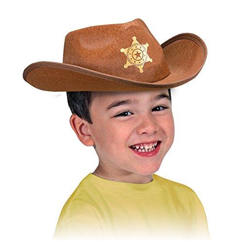 Melissa & Doug - 18526 - Kopfbedeckungen zum Rollen Spielen Spielen Rollenspielsammlung (Cowboy Hut Helm)