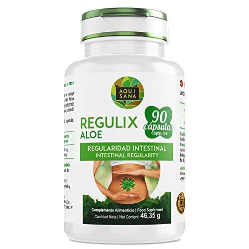 Detox Aloe Vera zur Darmreinigung - Natürliches Detox zur Entgiftung des Körpers - pflanzliches Nahrungsergänzungsmittel zum täglichen Verzehr - 90 Kapseln -