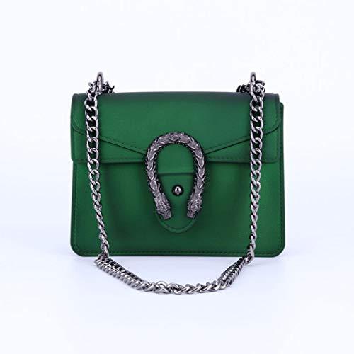 Schultertaschen 2019 Sommer Mode PVC Damen Kette Jelly Bag Messenger Bag Handtasche Mini Square Bag