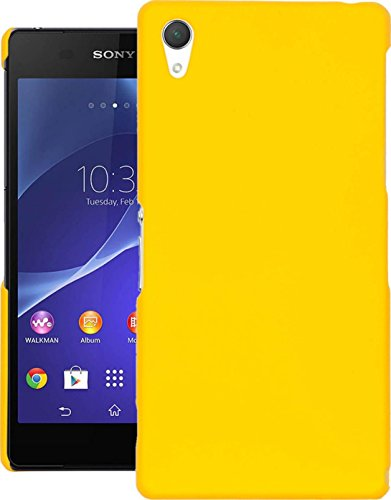 Cubix® XPERIA Z2 D6503 Case, Super Slim Hard Back Cover for SONY XPERIA Z2 D6503 Yellow  available at amazon for Rs.199
