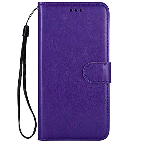 Dclbo Hülle für Samsung Galaxy J5 2017 / J530,Handyhülle Case PU Leder Hülle Tasche Flip Lederhülle Brieftasche Klapphülle Handytasche Schale Schutzhülle für Samsung Galaxy J5 2017 / J530-Lila