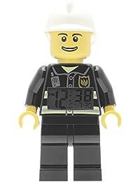 Lego - Reloj digital con forma de bombero de Lego