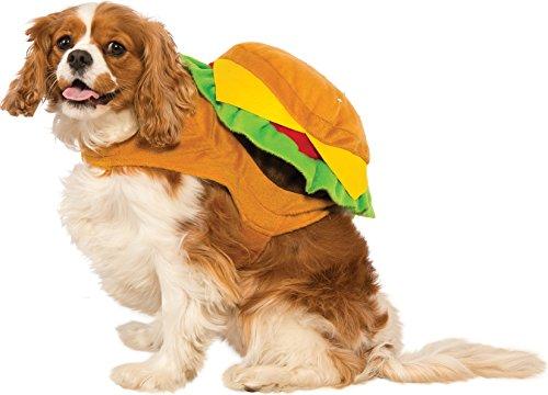 Rubies Kostüm Hamburger Hundekostüm, S, Mehrfarbig (Für Erwachsene Hamburger Kostüm)