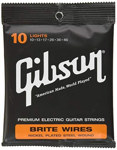 Gibson Gear SEG-700L Brite Wires Saiten .010 - .046 (Gibson E-gitarre)