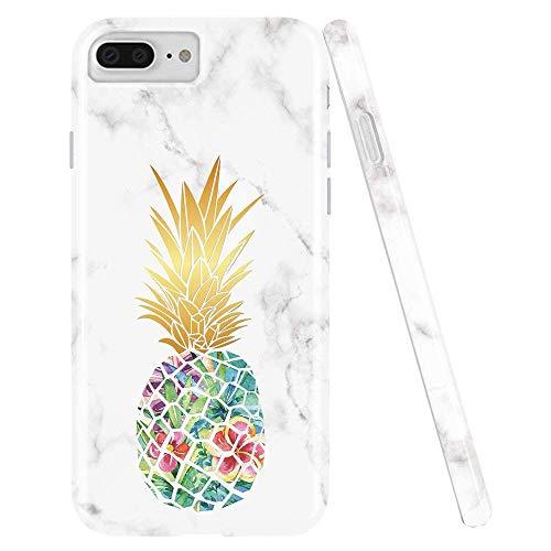 CQSJK Apple Silikon Case Für iPhone XS Max/Xs/Xr / 8/7 Plus Silica Gel Ananas Drop Schutzhülle,iPhoneXS Silica Gel Case