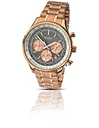 amazon co uk gb watch shop watches outlet watches sekonda mens grey dial rose gold bracelet watch 1104