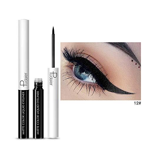 Maquillage Cosmétique Outil Imperméable à l'eau Crayon À Sourcils Liner Eye Brow Poudre Stylo Beauté Eye-liner liquide étanche à paillettes (12#)