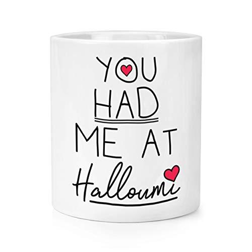 You Had Me At Halloumi Make-Up Pinsel Stift Topf