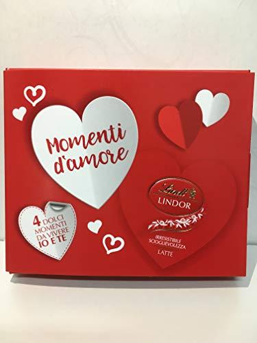 Scatolina 4 praline cuore al cioccolato. 55 g.