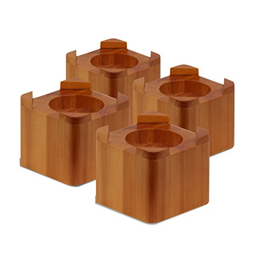 honey-can-do-sto-01150-wood-bed-lifts-maple-finish-4-pack