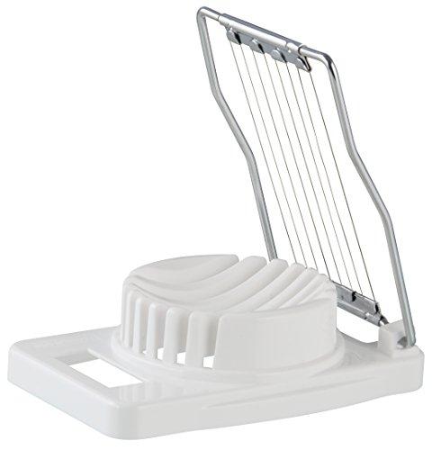 Fackelmann Egg Slicer, Plastic, Chrome Plated, S/S Wire,11X7.5X3 Cms