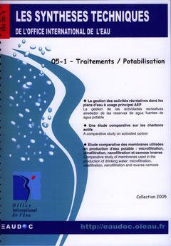 Traitements / Potabilisation (les Syntheses Techniques de l'Office International de l'Eau, en 05-1)