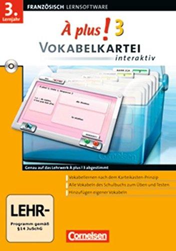À Plus! Interaktiv - Vokabelkartei interaktiv: Band 3 - CD-ROM