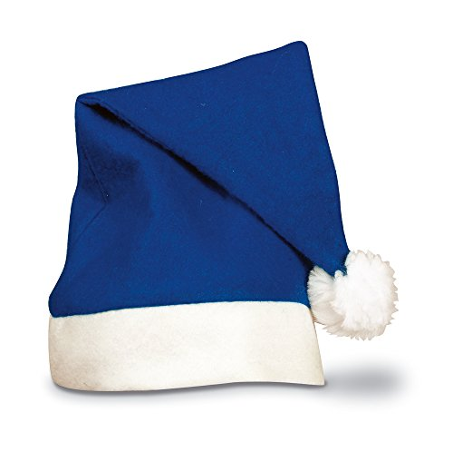 Ebuygb 1203504–10festive cappello da Babbo Natale, taglia unica, colore: Blu