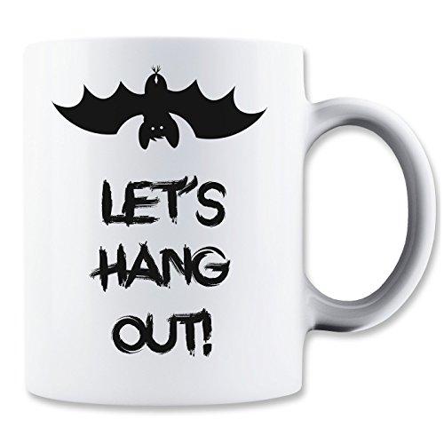 Let's Hang Out Bat Mug