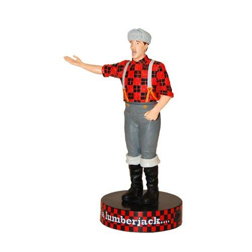 Factory Entertainment Monty Python Shakems Figura Movible con Sonido Lumberjack 18 cm *INGLÉS*