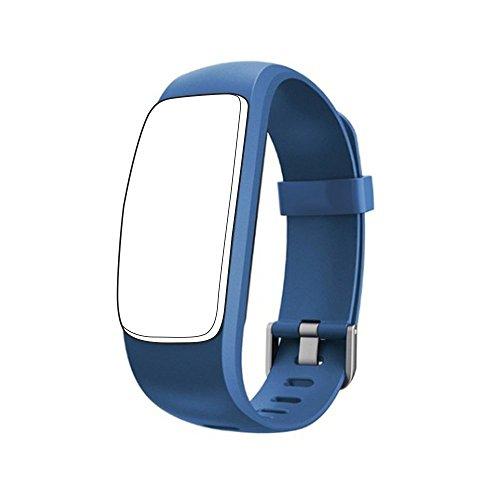 endubro Ersatzarmband für ID107 HR Plus Fitness Tracker & viele weitere Modelle aus hautfreundlichem TPU & nickelfreiem Verschluss