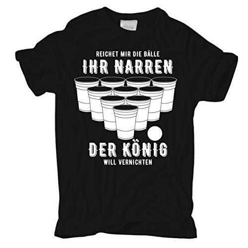 Männer und Herren T-Shirt Bier Alkohol Trinken Saufen Spiel Größe S - 8XL