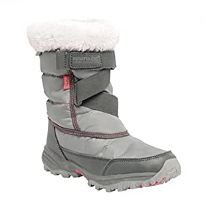 Regatta Great Outdoors Kinder Junior Stiefel Snowcadet II (33EU / 1UK) (Dunkler Stahl)