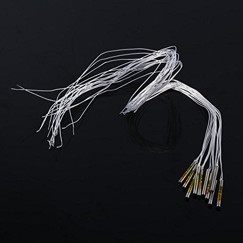 10Pcs PT100 Sonde étanche Capteur de Température -20 ℃ - 450 ℃