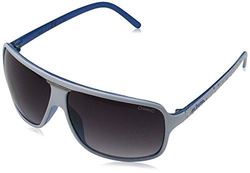 Alpina Sonnenbrille Sport Style MANJA, white dots-purple, A8524310