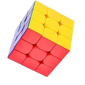 Vdealen – Cubo mágico con 6colores diferentes, sin pegatinas fastidiosas