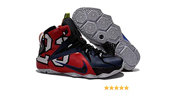 1b95698824ce TheLebron 12 Black What The Lebron Limited Edition Basketball Shoes for  Men s (7 UK)  Buy Online at Low Prices in India - Amazon.in