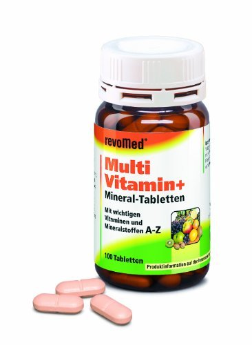 Multivitamin + Mineral Tabletten A-Z