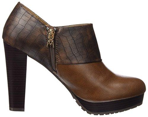 Maria Mare - Maria Mare 2016 I Basic Calzado Señora, Scarpe con tacco e punta chiusa Donna BOMBEADO CASTAÑO / CROCO CHOCOLATE