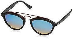 Ray-Ban Mirrored Phantos Womens Sunglasses - (0RB42576252B750|50|Mirror Gradient Blue Color)