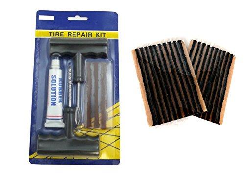 tubeless-tyre-tire-repair-puncture-kit-tool-plug-set-car-bike-quad-23-strips-new
