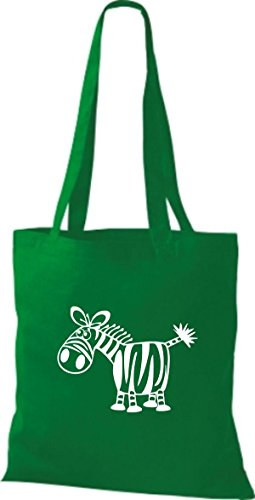 Shirtstown Stoffbeutel Tiere Zebra Kelly