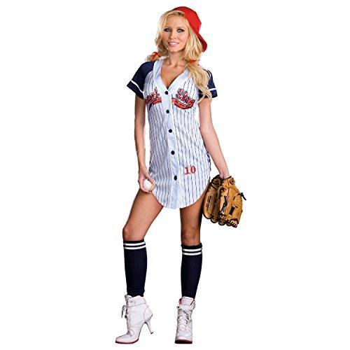 Sexy Baseball Player Jersey Grand Slam Costume Adult X-Large (Sexy Baseball Uniformen)