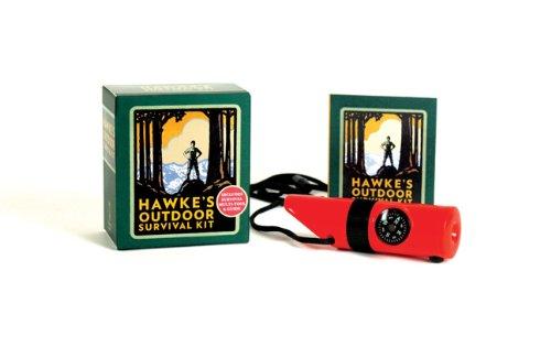 Price comparison product image Hawke's Outdoor Survival Kit: Includes Survival Multi-Tool & Guide (Mega Mini Kits)