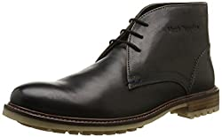 Hush Puppies Mens Benson Rigby Ankle Boots Black 12 D(M) US