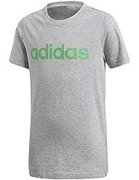 adidas Jungen Linear Kurzarm-Shirt