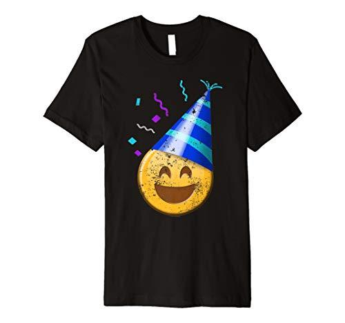 Happy Birthday Shirt Kids Party Emoticon