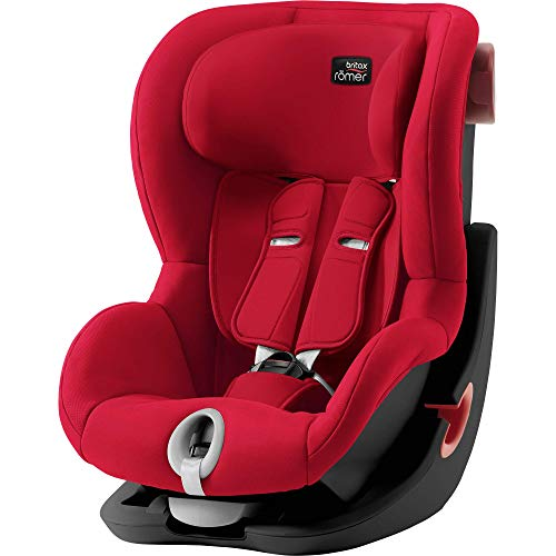 Britax Römer 2000030811 Britax Römer KING II Black Series Siège auto Groupe 1 9-18 kg Collection 2019 Fire Red Rouge