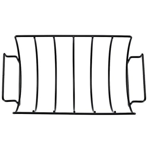 XUAXIONG Non-stick bbq rib rack Original Rib and Roast Holder Rib Rack grill Rack f WH-BQ009