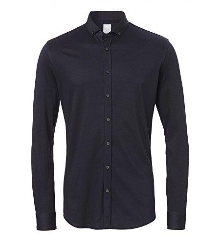 Michaelax-Fashion-Trade -  Camicia classiche  - Basic - Con bottoni  - Maniche lunghe  - Uomo Marine (130)