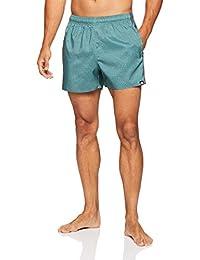 3786606ea5 adidas Men's 3-Stripes AOP Very Length Swim Shorts