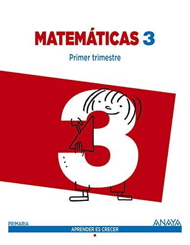 Matemáticas 3 (aprender es crecer)