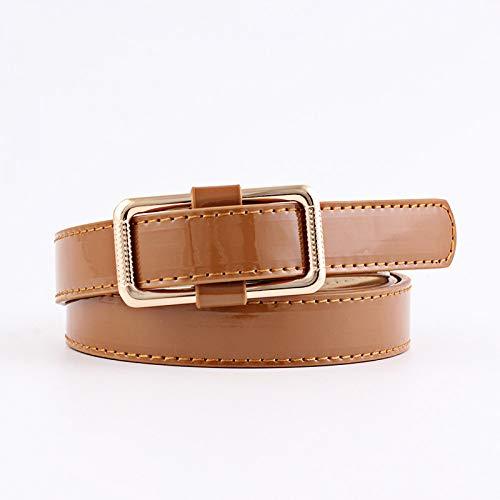 ZXMNSYD Bekleidung Accessoires Gürtel Leder Gürtel Taille Weibliche Square Buckle Gürtel Für Frauen Kleider Gürtel -