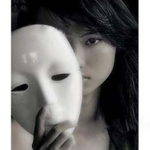 LAEMILIA Vendetta Maske Geist Ghost Auftritte Anonymous Guy Fawkes Fancy Kostüm Zubehör Halloween-Maske Gesichtsmaske Cosplay (Für Hop Hip Jugendliche Kostüme)