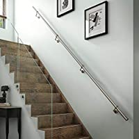 Delicieux Stairs Staircase Handrail Banister Rail Support Kit 3.6m Satin Stainless  Steel 40mm