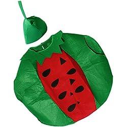 MagiDeal Cosplay Costume Abito Di Frutta Anguria Divertente per Adulti