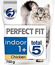 Perfect Fit 1+ Indoor Cat komplett trocken Huhn 750g